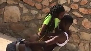 African sextape 9, in the backyard