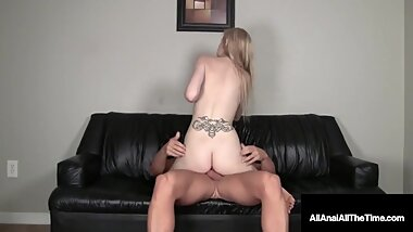 Smiling 19yo Teen Ava Love Butt Fucked Rimmed & Creampied!